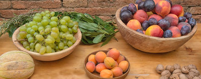Fruits of season Stock Photo