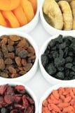 Fruits secs Image stock