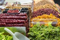 Fruits secs images stock