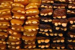 Fruits secs avec des noix Photos libres de droits