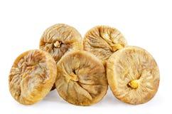 Fruits secs de figues iisolated Photo stock