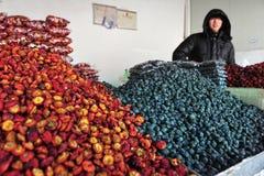 Fruits secs en Chine Images libres de droits