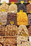Fruits secs et écrous Photographie stock libre de droits