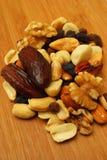 Fruits secs et noix Image stock