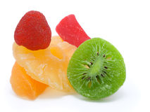 Fruits secs. Fruit glacé Images stock