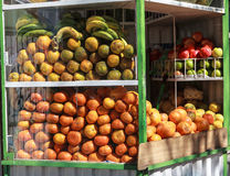 Fruits seller Stock Image