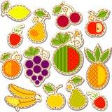 Fruits set Royalty Free Stock Photo