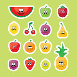 Fruits set Royalty Free Stock Images