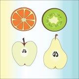 Fruits stock illustration