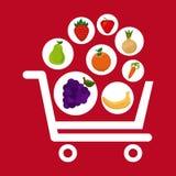 Fruits shopping Stock Photo