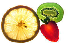Fruits slices Stock Photo