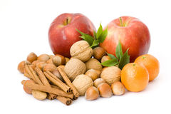 Fruits and spices Stock Photo