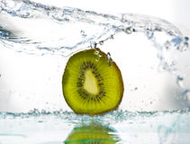 Fruits&splashes Royalty Free Stock Image