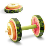 Fruits for sports. Royalty Free Stock Photography