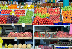 Fruits stall Stock Photo