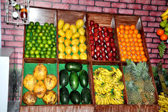 Fruits stall Royalty Free Stock Photos