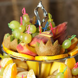 Fruits stand Royalty Free Stock Images
