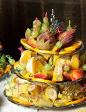 Fruits stand Royalty Free Stock Photography