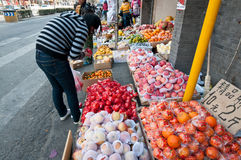 Fruits stand Stock Photo