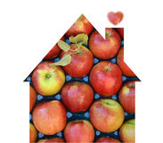 Fruits store , house Stock Images