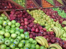 Fruits Store. This is from a new fruits and vegetables store launched lately in Irbid, Jordan Royalty Free Stock Image