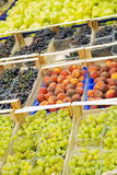 Fruits in supermarket Stock Image