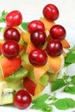Fruits sur des bâtons Images stock