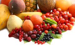 Fruits sur la table. Durée toujours Photographie stock