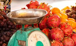 Fruits sur le marché central en Kuala Lumpur images stock