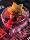 Fruits sur une table Photographie stock libre de droits
