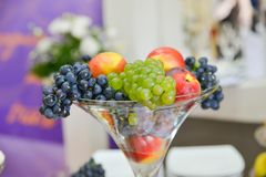 Fruits on the table Royalty Free Stock Images