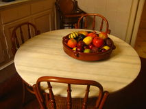 Fruits on the table. In Gaudi's house Stock Photo