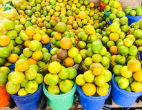 Fruits at tanzanian market. African fresh food Stock Photo