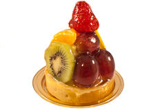 Fruits tart Royalty Free Stock Photos