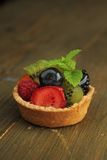 Fruits tart Stock Photos