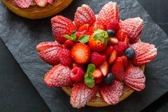 Fruits Tart Stock Photo