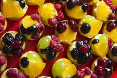 Fruits tarts Stock Photos