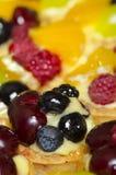 Fruits tarts Stock Photos