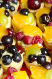 Fruits tarts Royalty Free Stock Photography