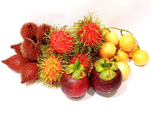Fruits from Thailand Royalty Free Stock Photos