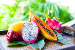 Fruits of Thailand Royalty Free Stock Images