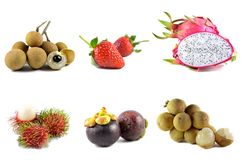 Fruits from Thailand Royalty Free Stock Images