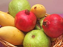 Fruits - tropical Stock Photos