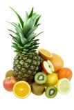 Fruits tropicaux Images stock