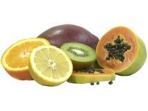 Fruits tropicaux d'isolement   Photos libres de droits