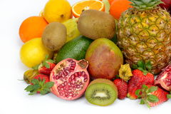 Fruits tropicaux frais photo stock
