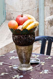 Fruits in vase Royalty Free Stock Image