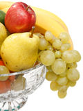 Fruits in the vase Stock Photos