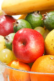 Fruits in the vase Royalty Free Stock Photo