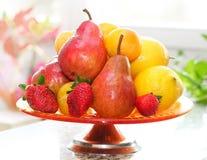 Fruits vase stock images